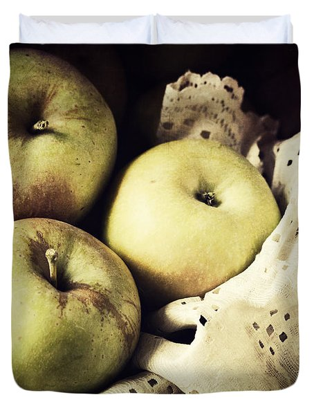 Fuji Apples Duvet Cover