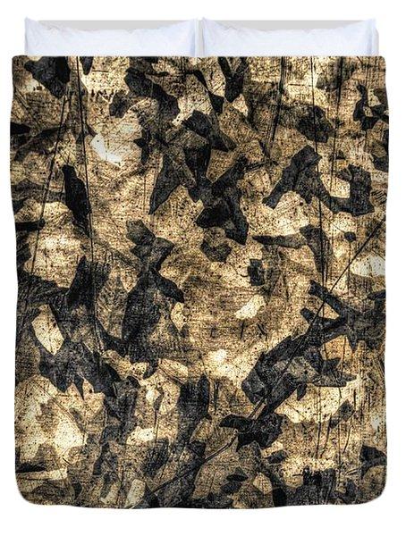 Galvanized Duvet Cover by Michael Garyet