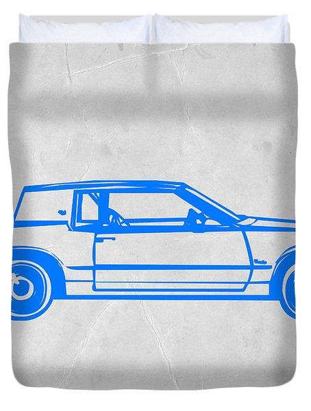 Gangster Car Duvet Cover