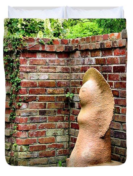 Garden Art Duvet Cover by Kristin Elmquist