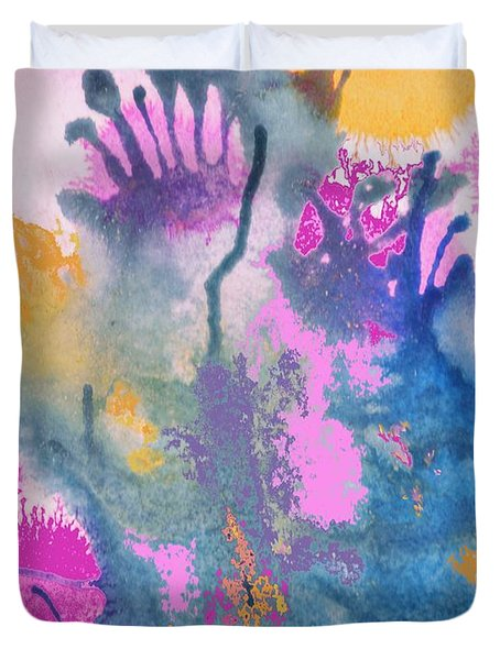 Garden Fantastico Duvet Cover by Renate Nadi Wesley