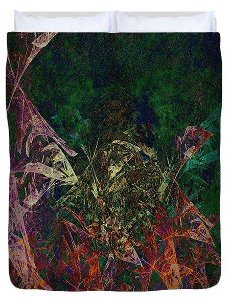 Garden Of Color Duvet Cover by Christopher Gaston