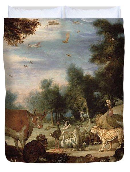 Garden Of Eden Duvet Cover by Jacob Bouttats