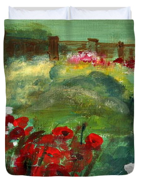 Garden View Duvet Cover