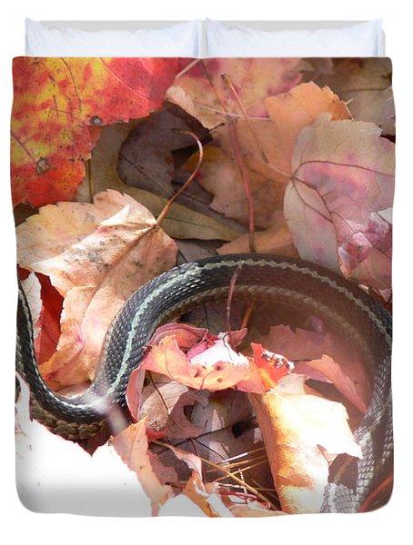Garter Snake Duvet Cover
