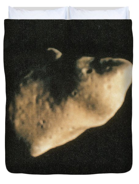 Gaspra, S-type Asteroid, 1991 Duvet Cover by Science Source