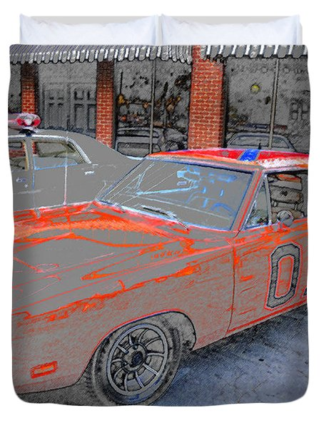 General Lee One Duvet Cover by David Lee Thompson