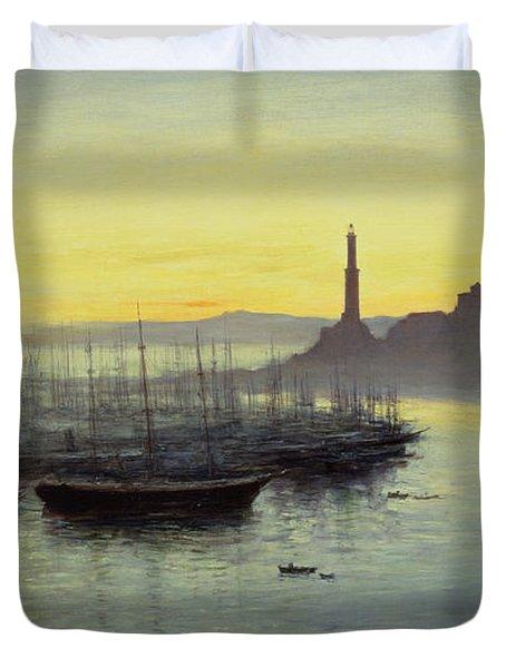 Genoa Duvet Cover by John MacWhirter