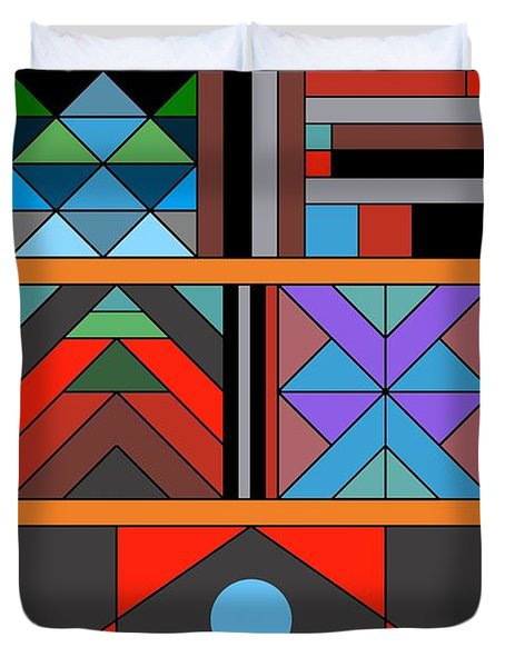 Geometric 2 Duvet Cover