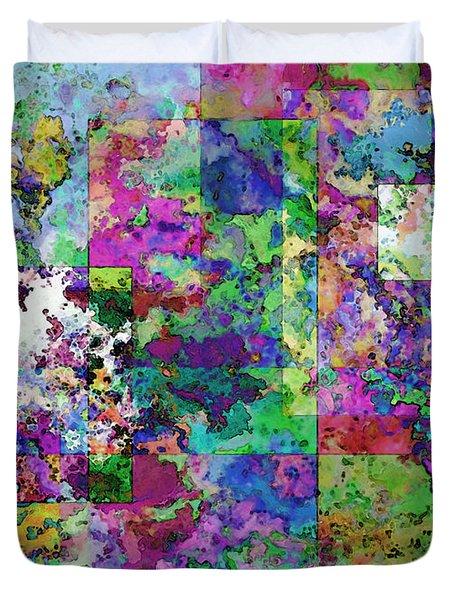 Geometrix  Duvet Cover by Debbie Portwood