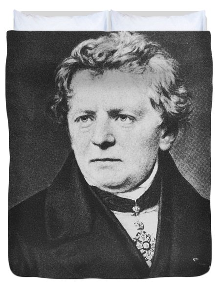 Georg Ohm, German Physicist Duvet Cover by Science Source