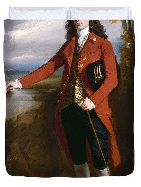 George Boone Roupell Duvet Cover by John Singleton Copley