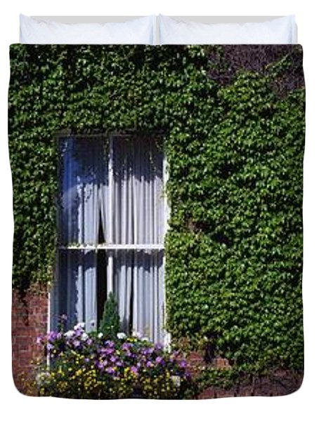 Georgian Doors, Fitzwilliam Square Duvet Cover by The Irish Image Collection