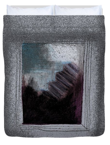 Ghost Stories The Argument Duvet Cover by First Star Art