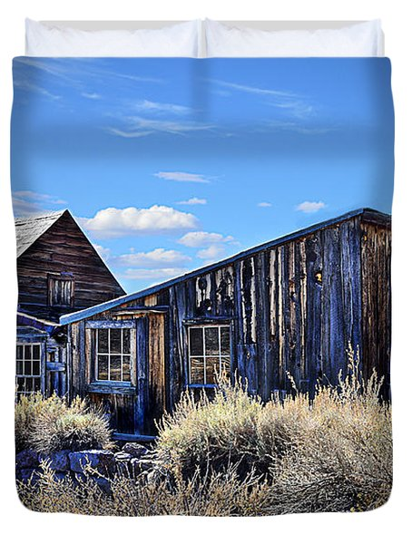 Ghost Town House Duvet Cover