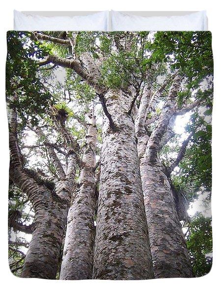 Giant Kauri Grove Duvet Cover by Peter Mooyman