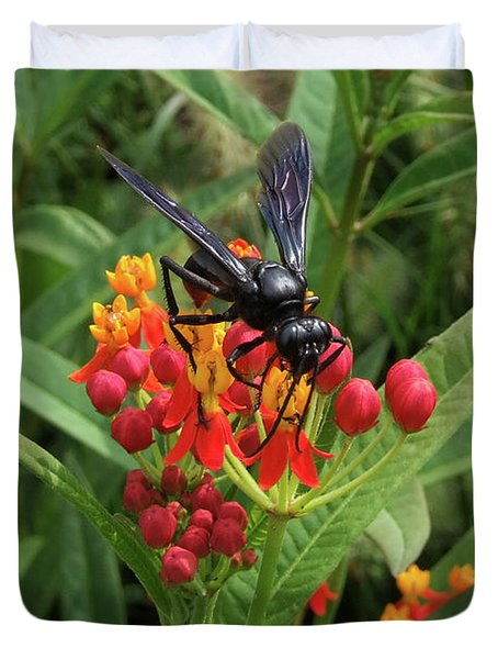 Giant Wasp Duvet Cover