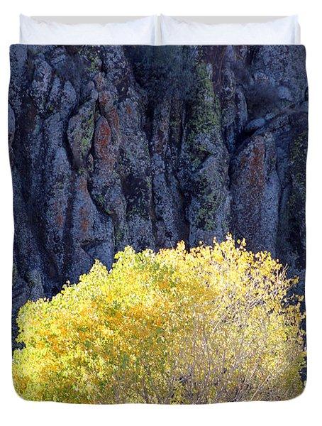 Gilded Autumn Duvet Cover