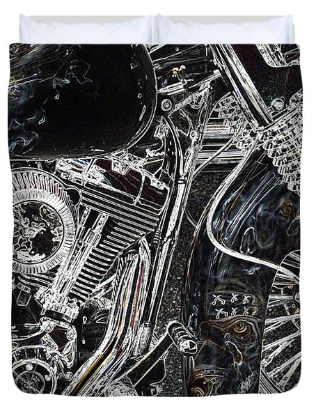 Duvet Cover featuring the photograph Gimmie The Keys  by Anthony Wilkening
