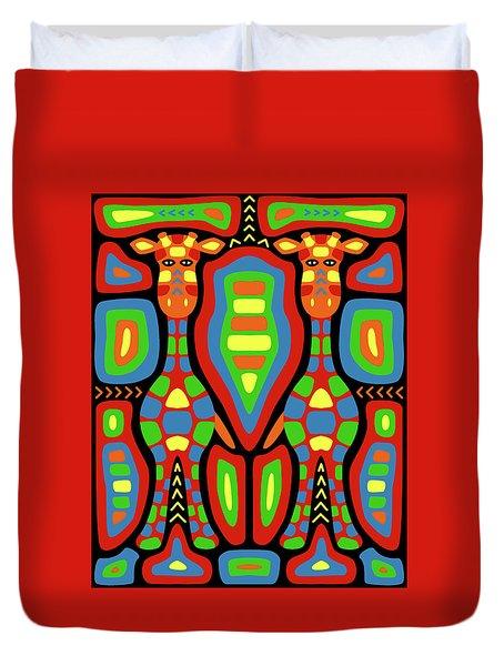 Giraffe Mola Duvet Cover
