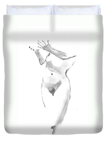 Give - Receive Duvet Cover