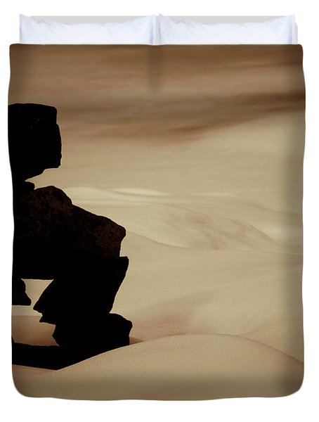 Given To The Luck Duvet Cover by Jerry Cordeiro