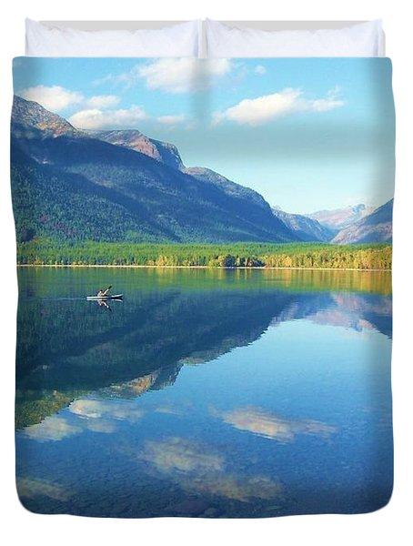 Glacier Park Magic Duvet Cover