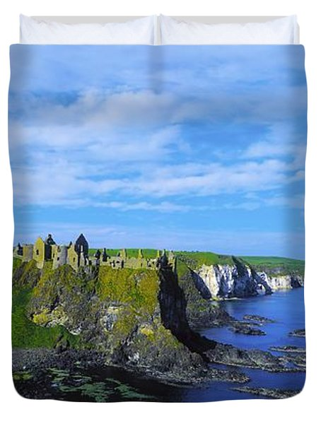 Glenarriff Falls, The Antim Glens, Co Duvet Cover by The Irish Image Collection