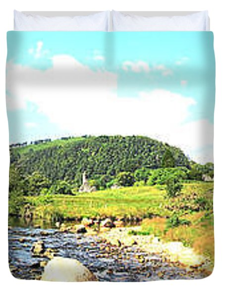 Glendalough Panorama Duvet Cover
