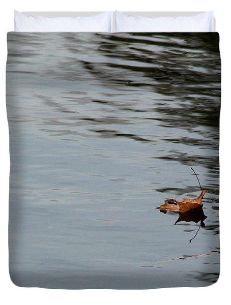 Gliding Across The Pond Duvet Cover by LeeAnn McLaneGoetz McLaneGoetzStudioLLCcom