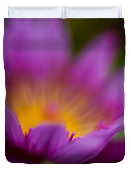 Glorious Lily Duvet Cover by Mike Reid