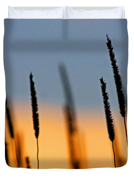 Duvet Cover featuring the photograph Glow by Bruce Patrick Smith