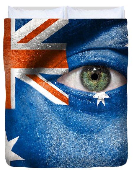 Go Australia Duvet Cover by Semmick Photo