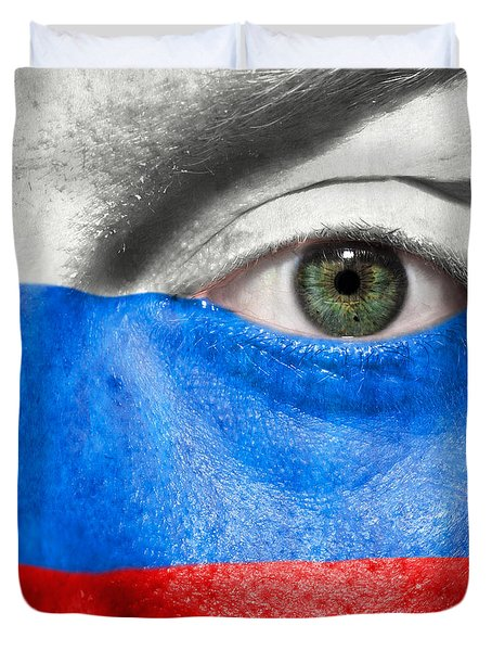Go Russia Duvet Cover by Semmick Photo