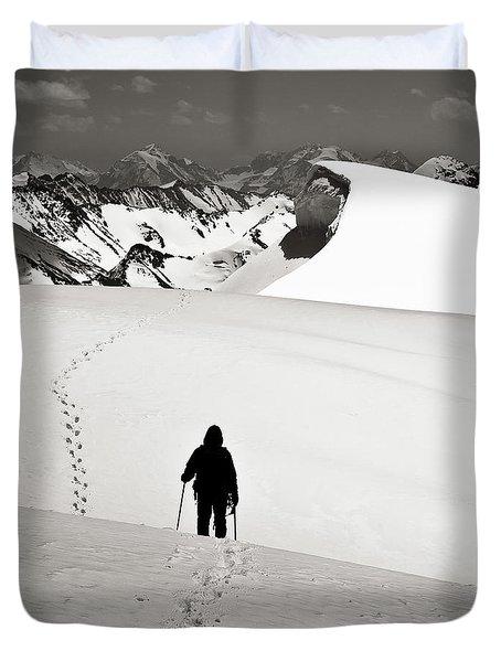 Going Forward Duvet Cover by Konstantin Dikovsky