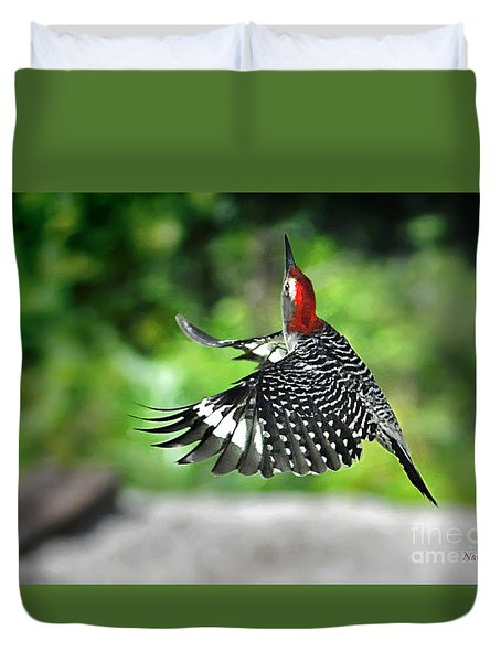 Duvet Cover featuring the photograph Going Home by Nava Thompson