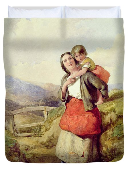 Going Home Duvet Cover by William Lee