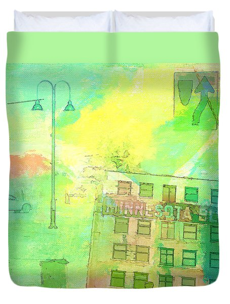 Going Places Duvet Cover by Susan Stone