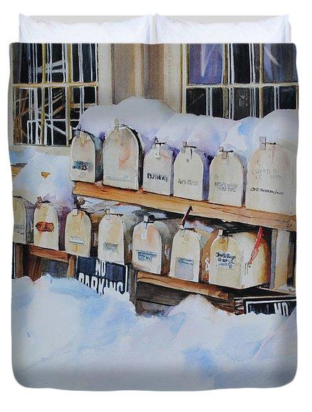 Going Postal II Duvet Cover