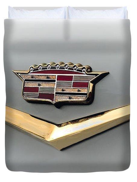 Gold Badge Cadillac Duvet Cover