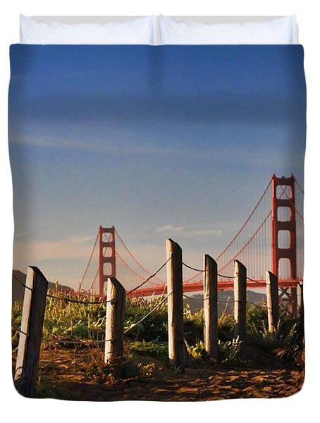 Golden Gate Bridge - 2 Duvet Cover