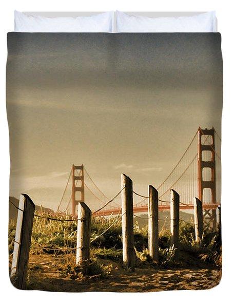 Golden Gate Bridge - 3 Duvet Cover