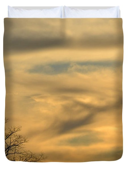 Golden Hue Duvet Cover