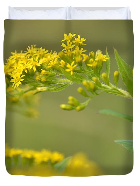 Golden Perch Duvet Cover