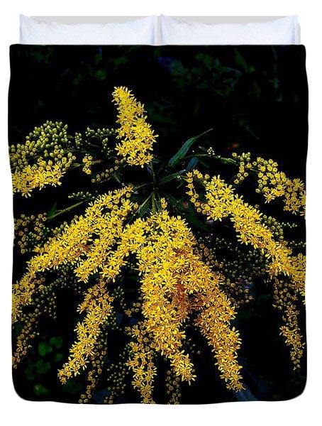 Goldenrod Duvet Cover by Priscilla Richardson