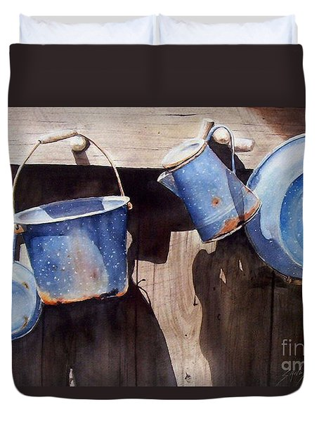 Gone To Pot...sold  Duvet Cover