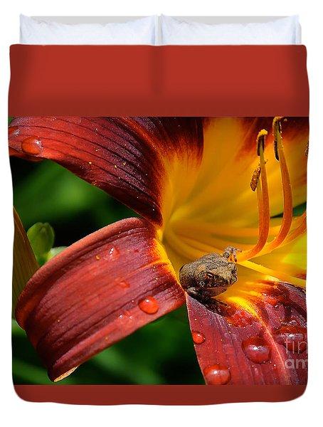 Good Morning Duvet Cover by Lois Bryan