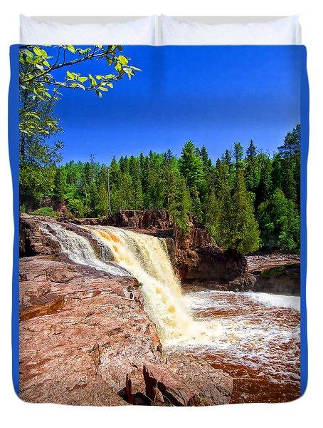 Gooseberry Falls Duvet Cover