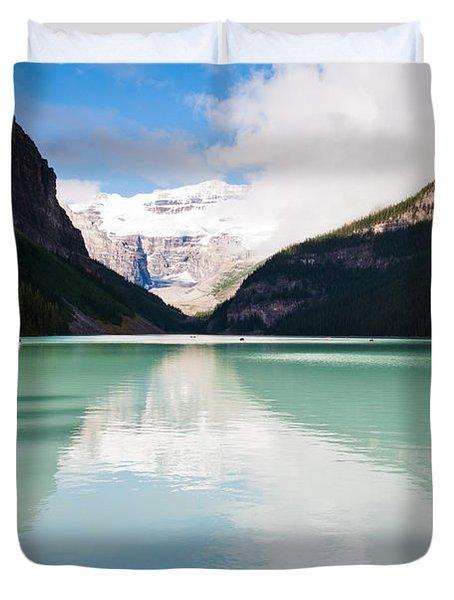 Gorgeous Lake Louise Duvet Cover by Cheryl Baxter