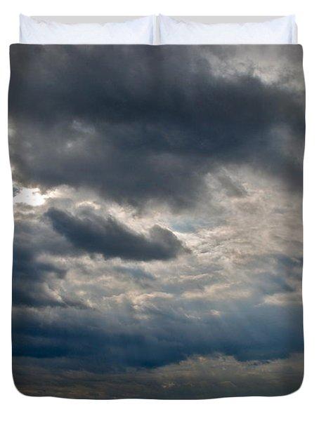 Gozo Skies Duvet Cover by Eric Tressler